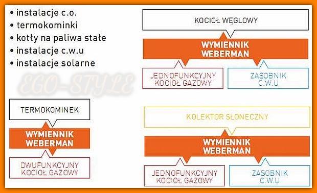 Zestaw wymiennikowo pompowy IC8x2460Z WEBERMAN FERRO