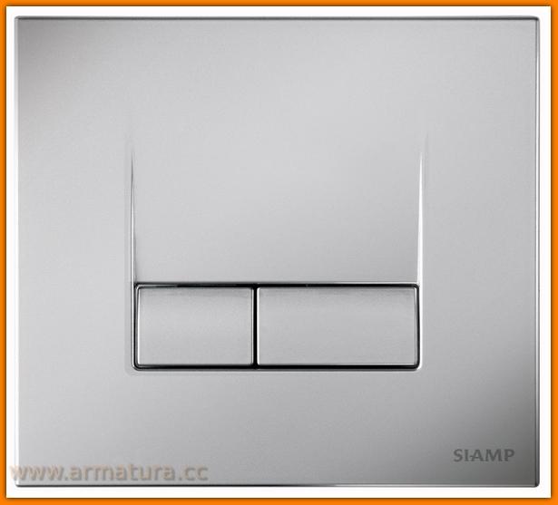przycisk do spłuczki wc K97-324 CERSANIT AQUA S-2 CHROM-MAT