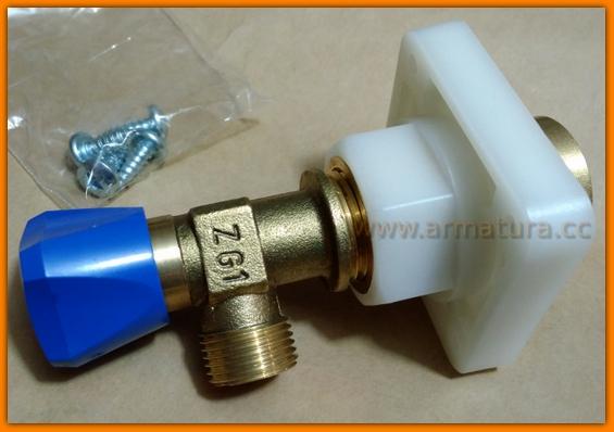 Zawór kątowy odcinający WC Cersanit K99-0096 HI-Tec/LINK