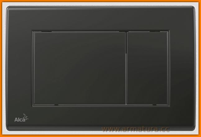 przycisk spłuczki M278 ALCAPLAST DELFIN czarny