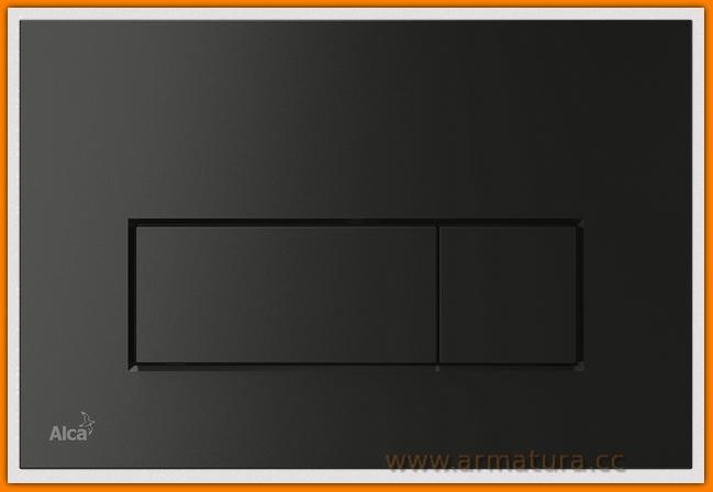 przycisk spłuczki czarny mat M578 ALCAPLAST DELFIN