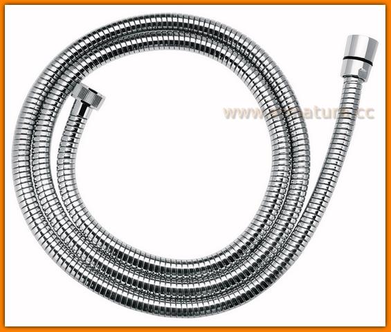 Wąż natryskowy rozciągliwy 150-200 cm W05 FERRO stożkowy prysznicowy
