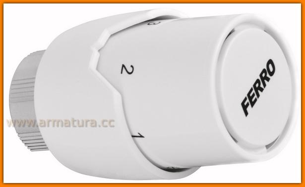 głowica termostatyczna GT20B FERRO do zaworów termostatycznych